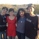 Jeovany, Stephanie, Tania, and Raul upon Jeovany and Tania's release!
